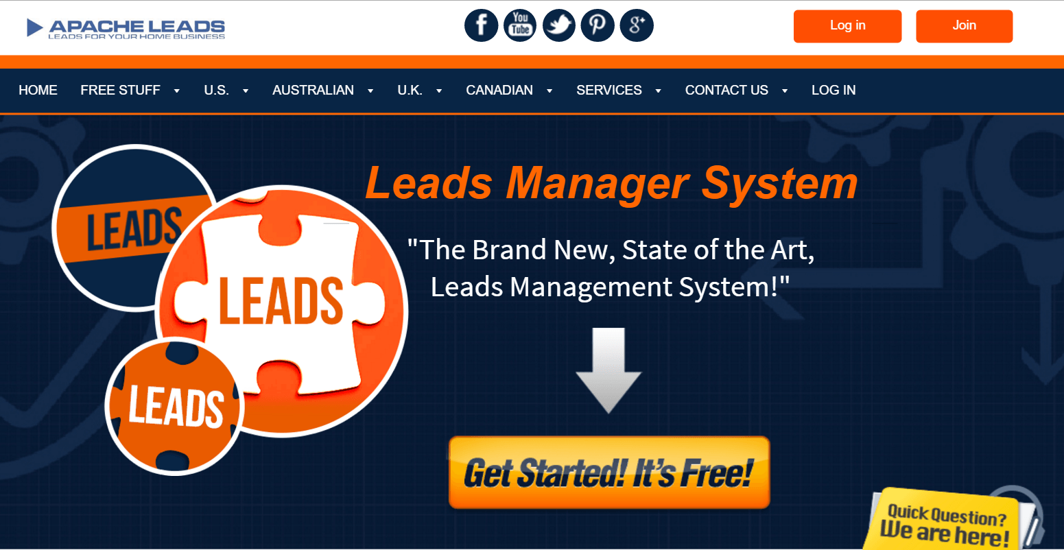 apacheleads - the leads manager system