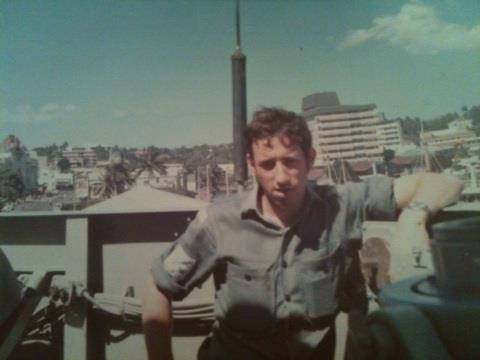 Sailor Don in Suva, Fiji 1974, somewhat hungover