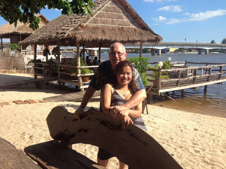 Don & Theary in Kampot, Cambodia