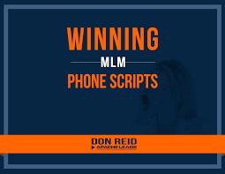 apache leads winning mlm phone scripts