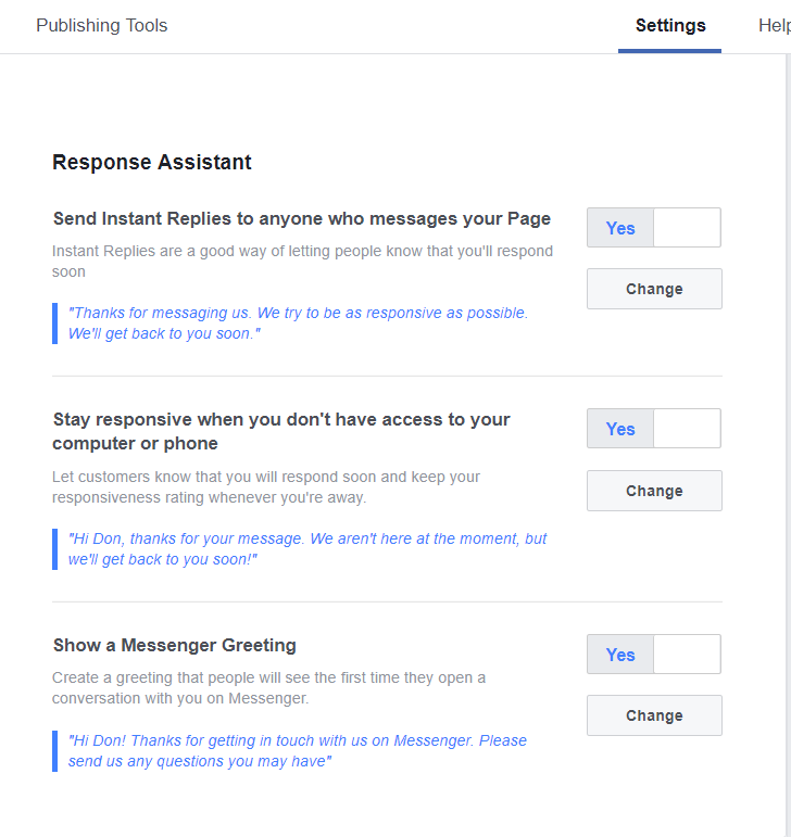 How To Set Up A Facebook Business Page - response assistant