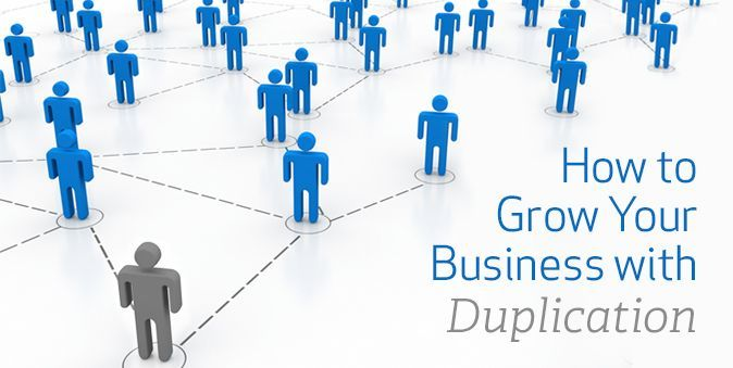 mlm leads duplication is the key to mlm success