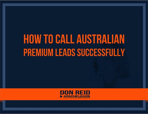 How to call Australian leads