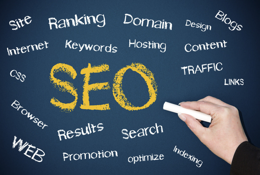 SEO - Search Engine Optimization - Concept