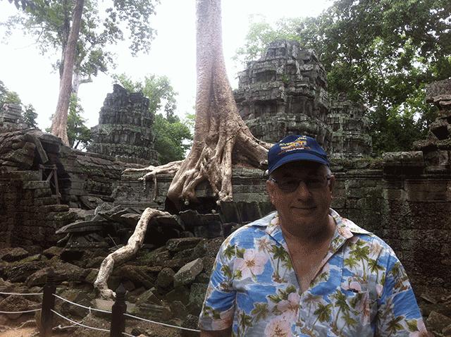 Don Reid at Angkor Wat
