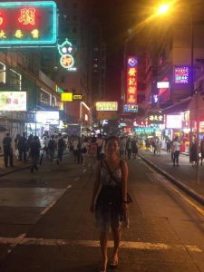 Theary in Kowloon