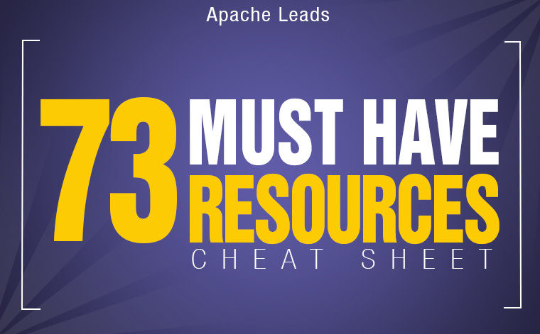 Cheat Sheet: 73 Must have Resources