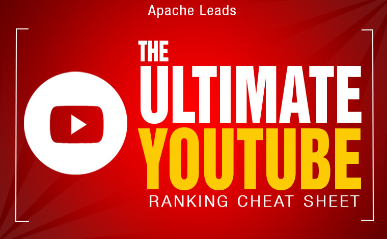 Ultimate Youtube Ranking Cheat Sheet