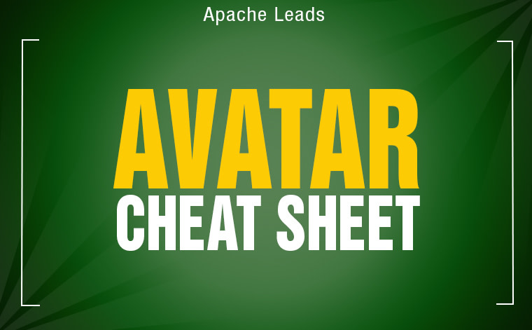 Cheat Sheet: Avatar