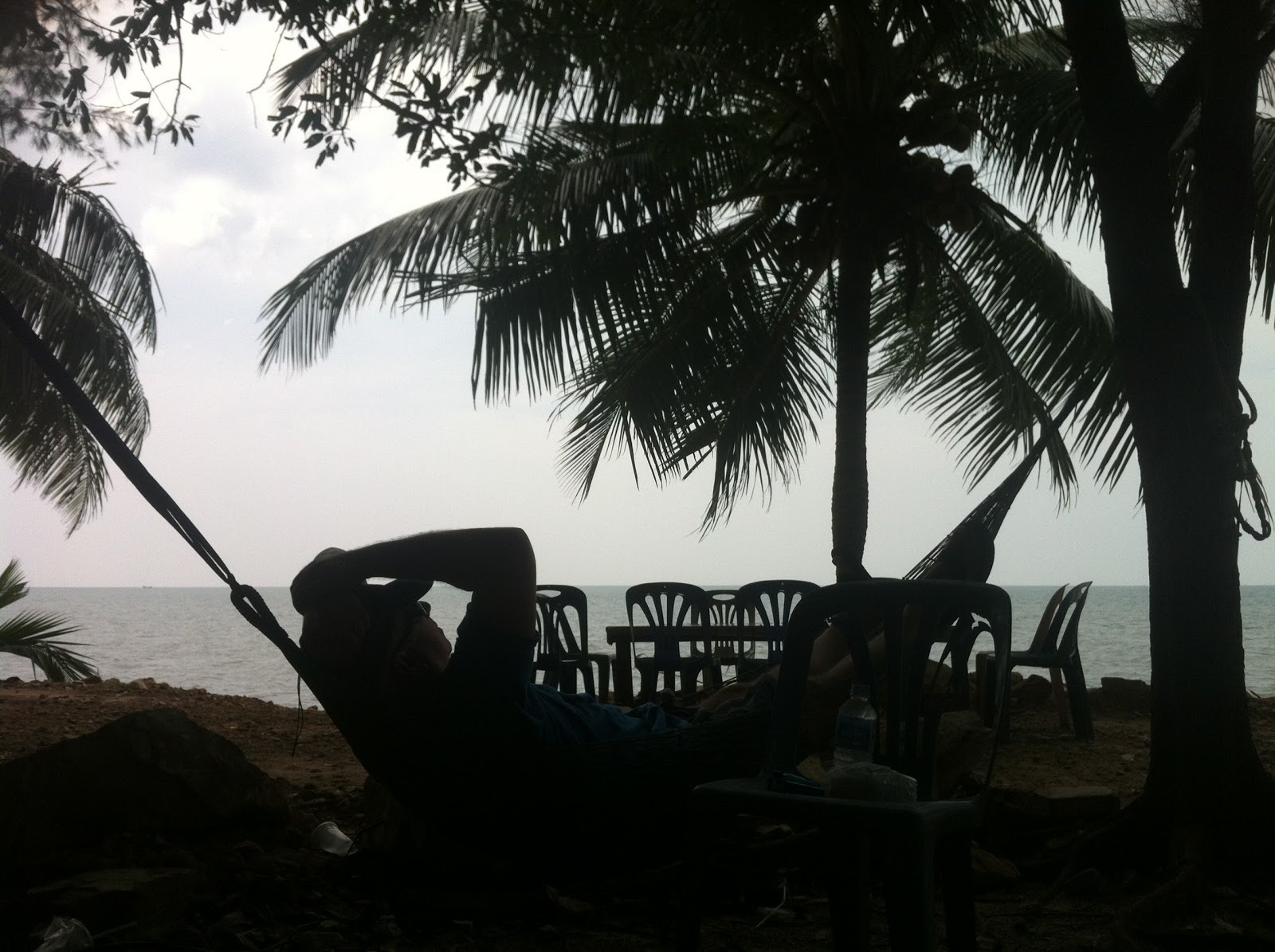 Don in a Hammock in Koh Kong