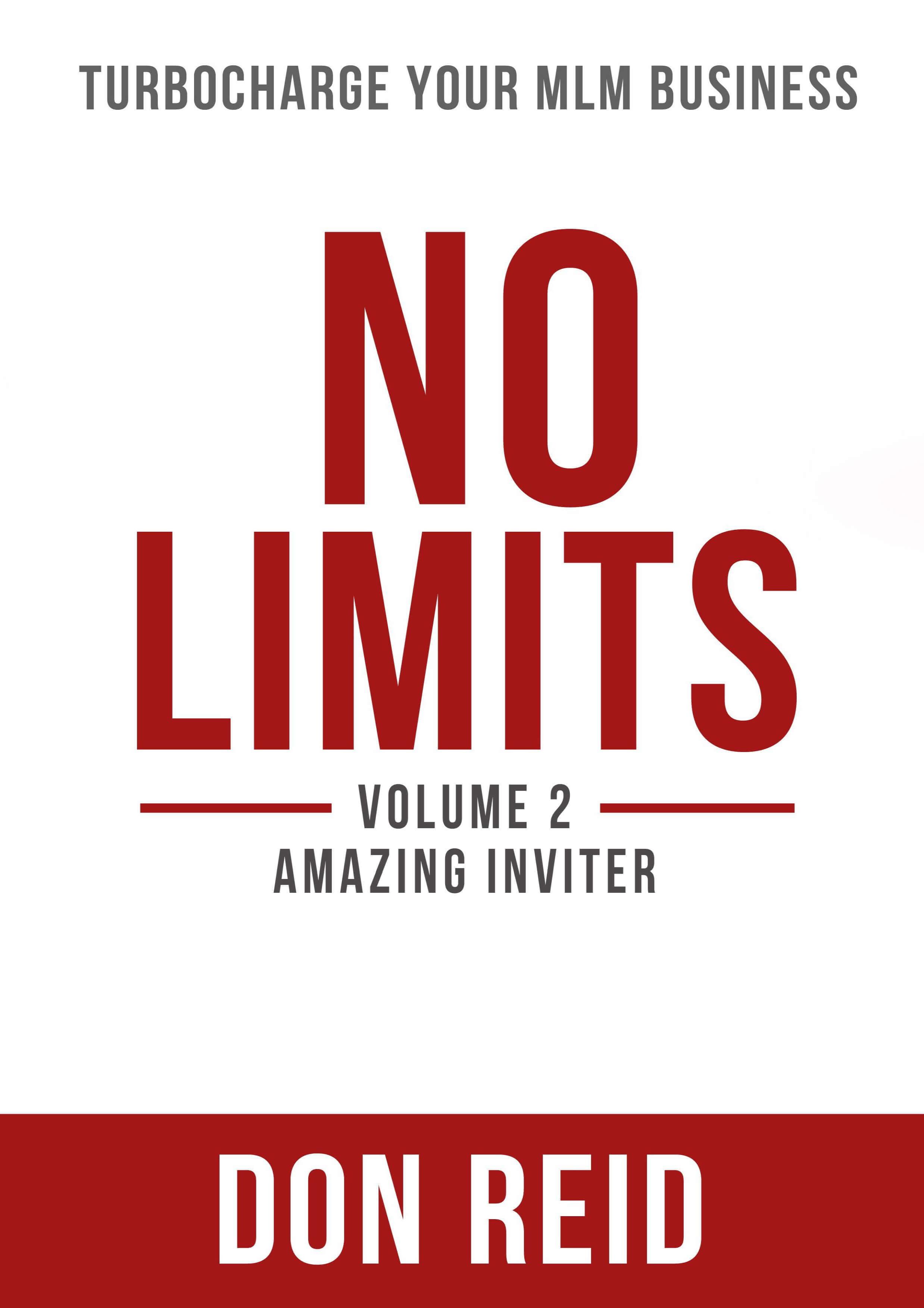 No Limits-Volume 2-Amazing Inviter