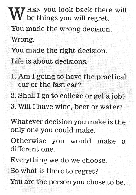 swipe paul arden decisions