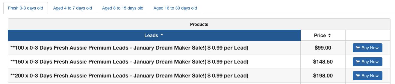 Dream Maker Sale