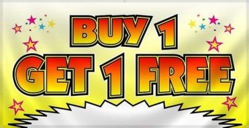 Buy 1 Get 2