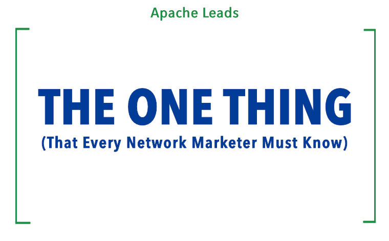 The One Thing Every Marketer Must Know