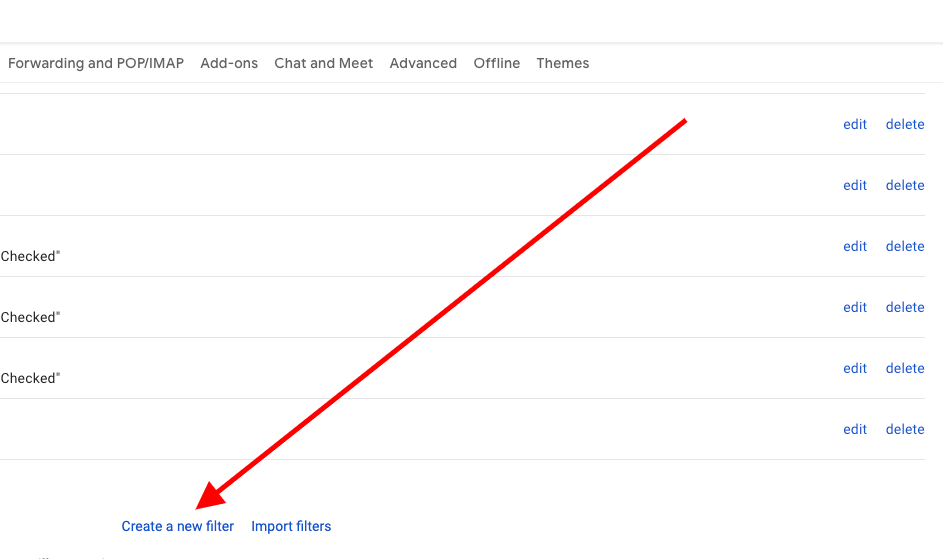 Gmail Create A New Filter